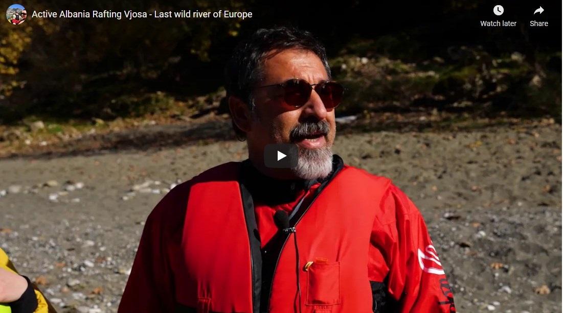 Ministar Bledi Cuci uživa u splavarenju rijekom Vjosa