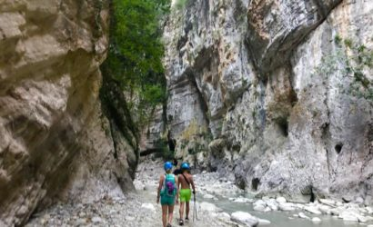 packraft, Snorkel and Hike Canyons in Albania20