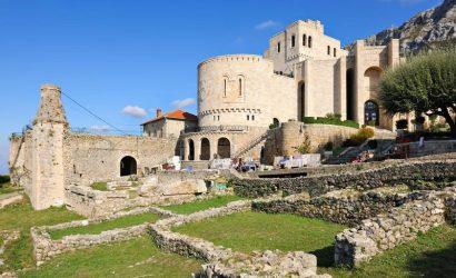 Kruja slott