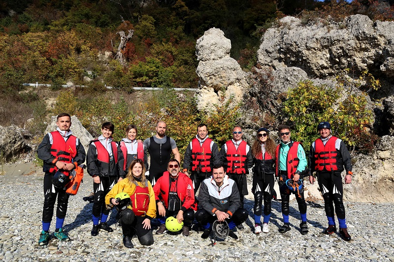World Rafting Federation Rafting Training in Albanië