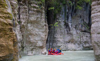 kanjon osumi rafting
