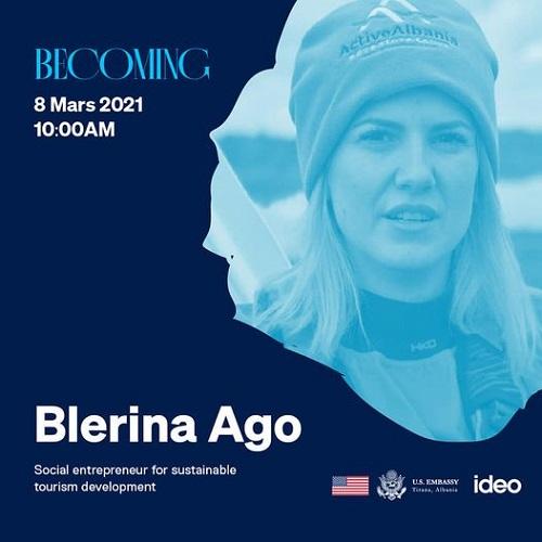 Станувајќи TedX Блерина Аго