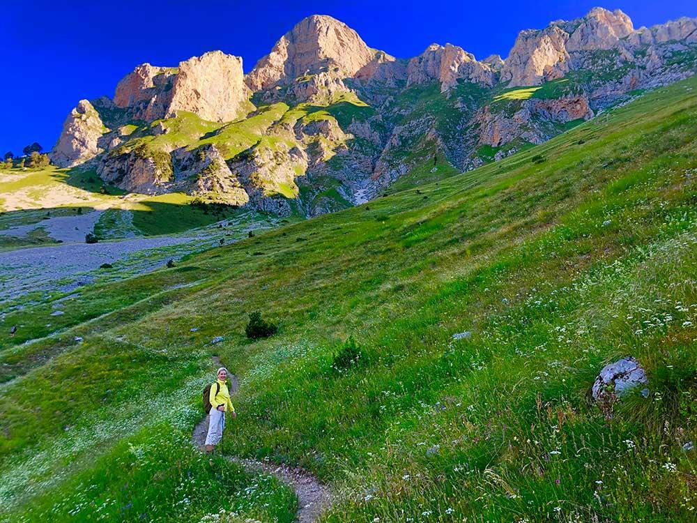 Hiking Albanian Alps Active Albania