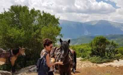 Ridning i södra Albanien15