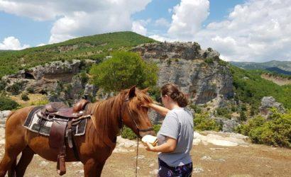 Ridning i södra Albanien16