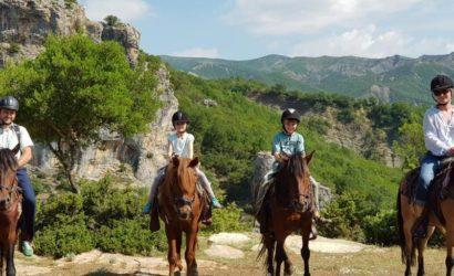 Ridning i södra Albanien2