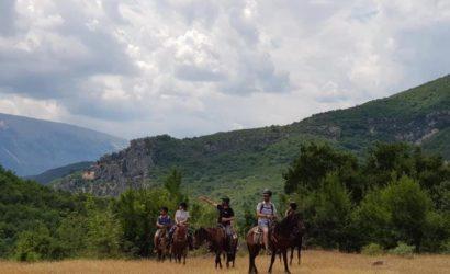 Ridning i södra Albanien5