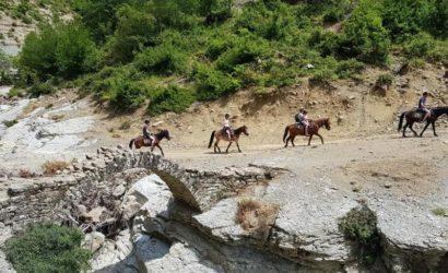 Ridning i södra Albanien9
