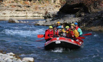 Rafting in Vjosa wild River