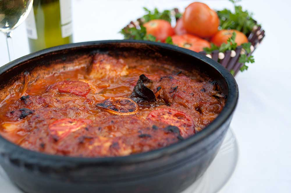 Tave Korani Albanian local food