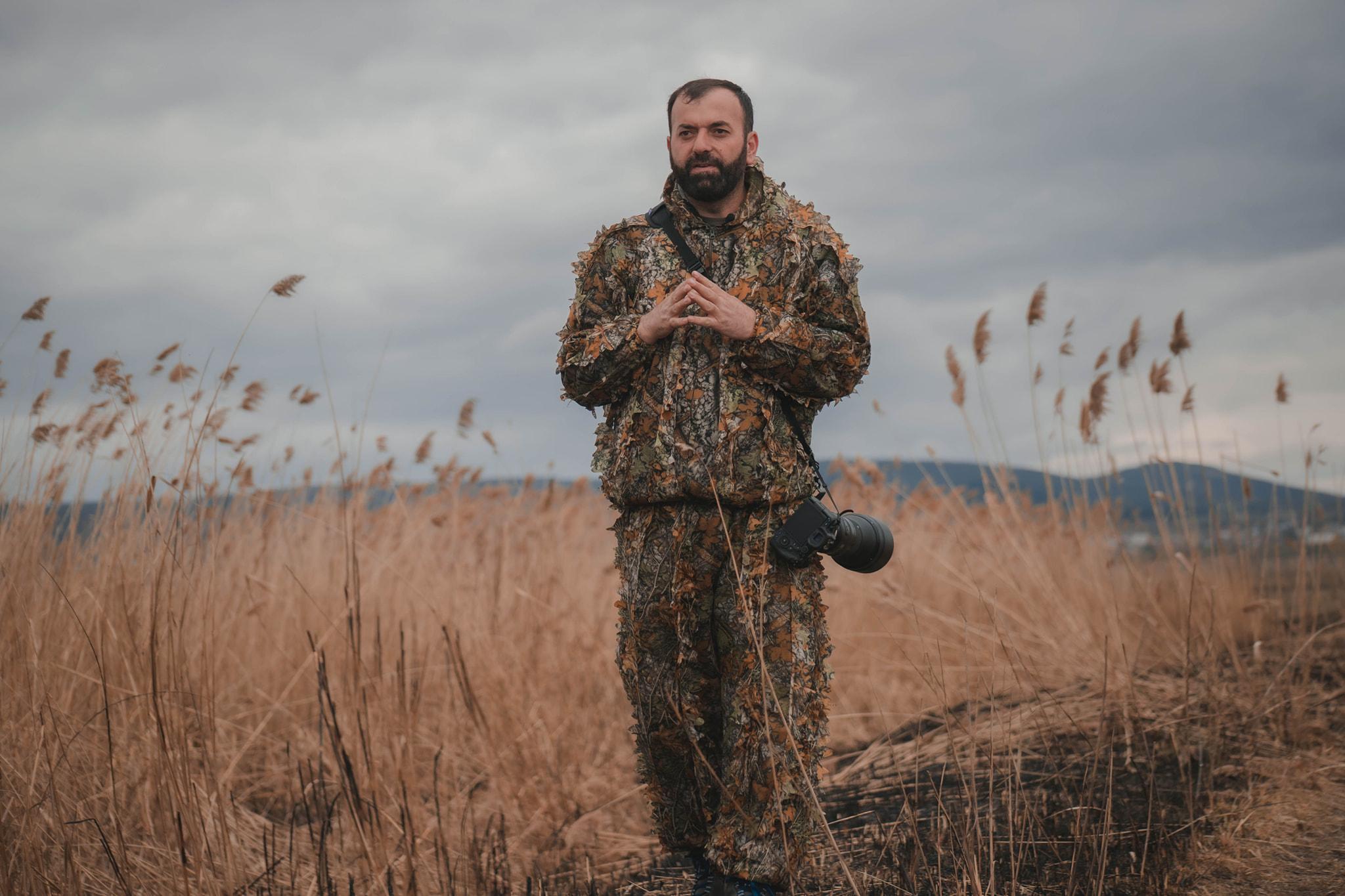 Wildlife Photographer Arian Mavriqi