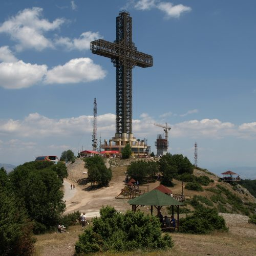 Take an easy hike to Vodno in Skopje , and enjoy the view!