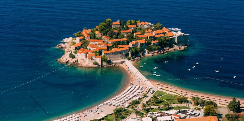Плажа Свети Стефан