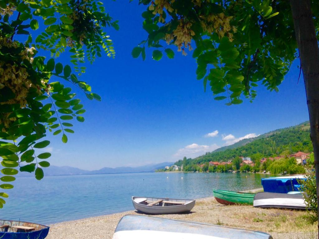 Selo Peshtan. sjeverna makedonija